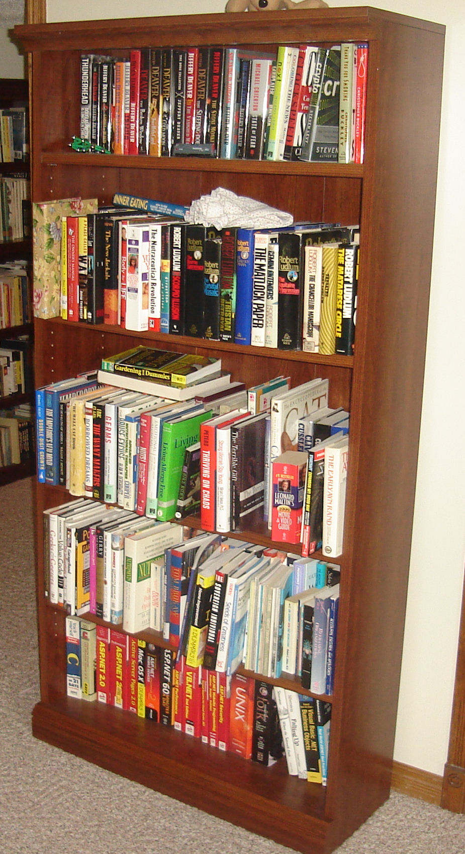 Heather's fourth bookshelf