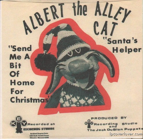 Albert the Alley Cat record cover