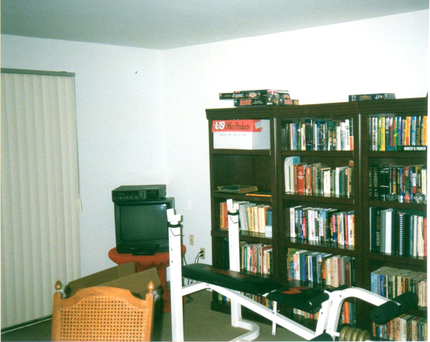 Brian's apartment, 1998