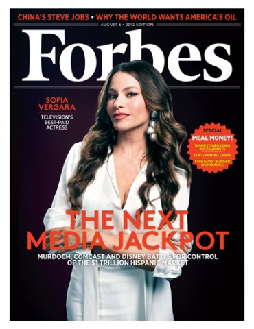 Sofia Vergara on the Forbes cover