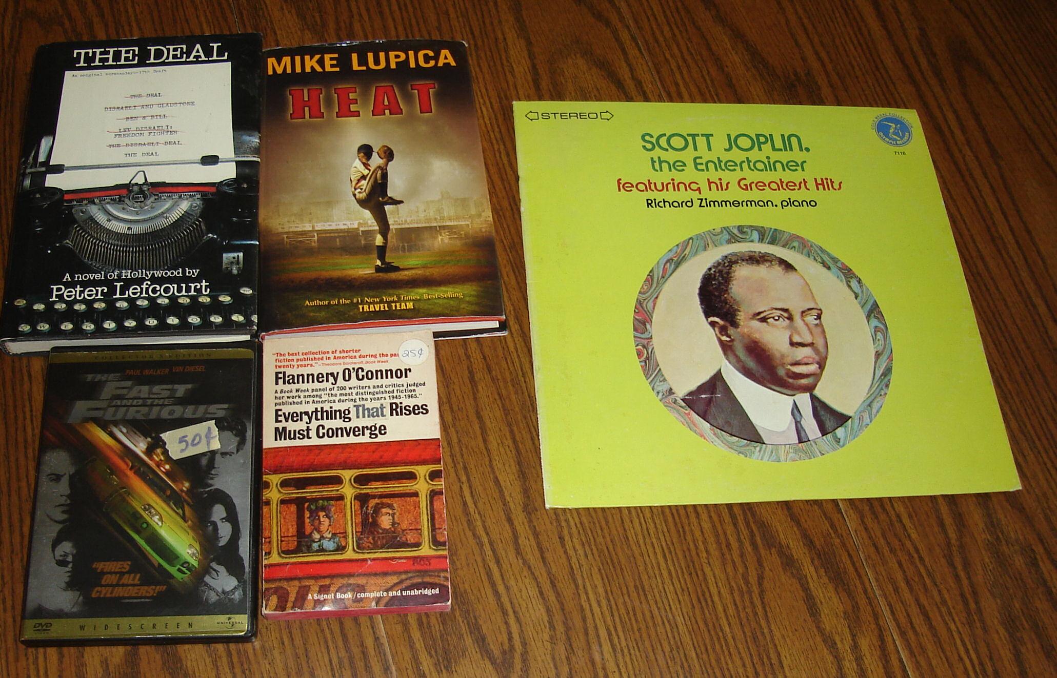 Garage sale books on August 30, 2008