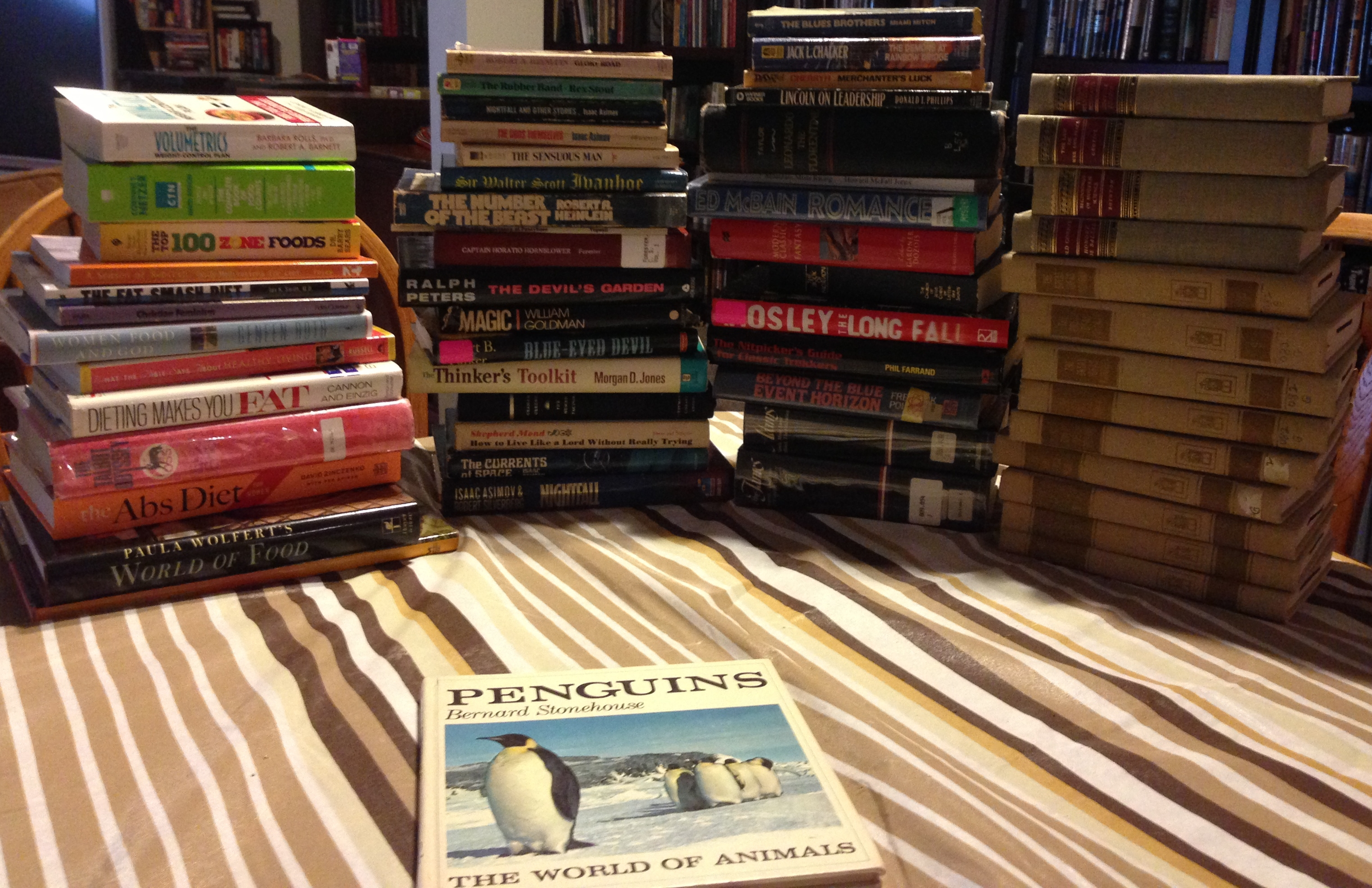 Spring 2014 Friends of the Christian County Library book sale haul