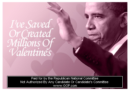 GOP Valentine's Cards