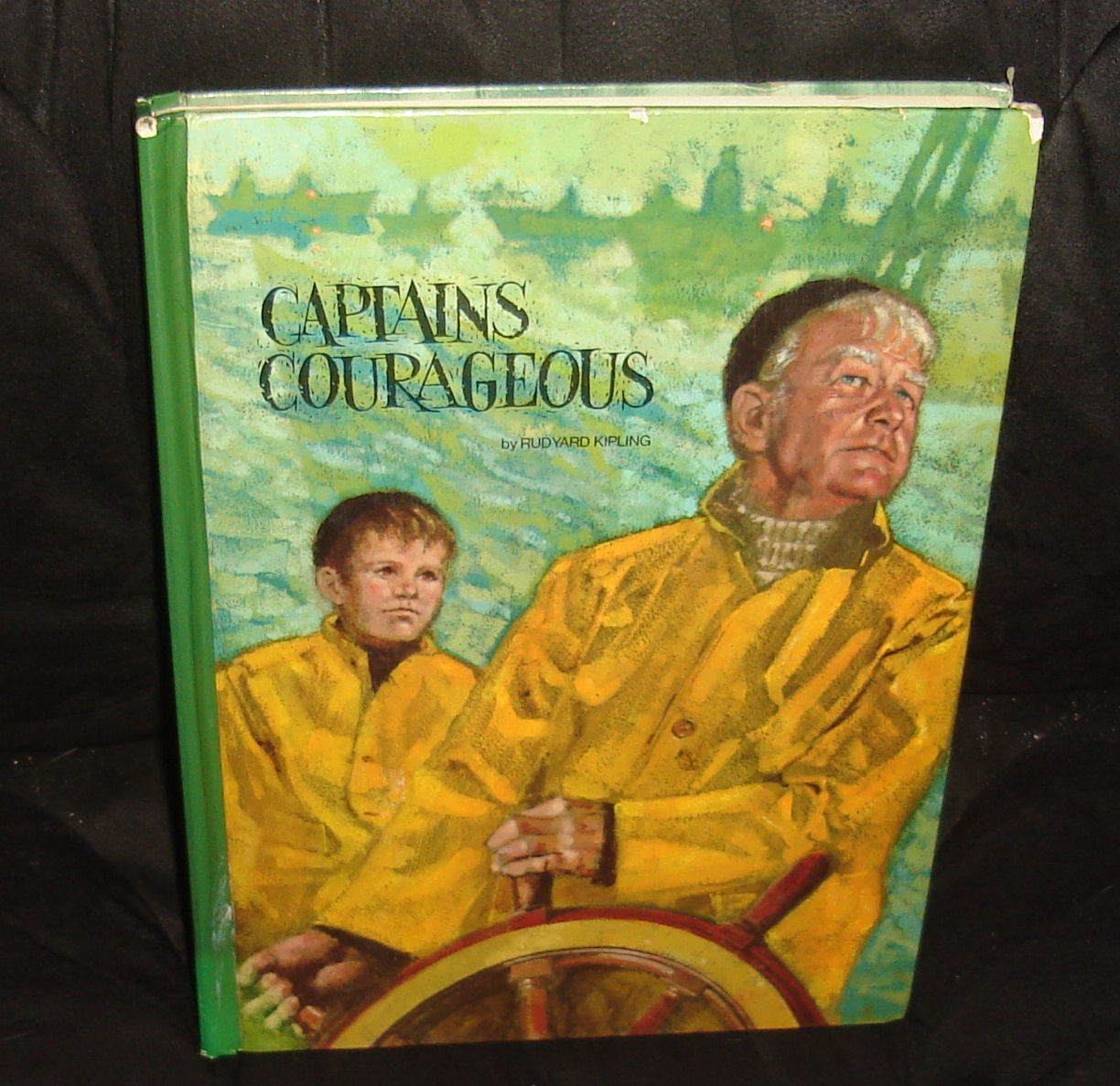 The copy of Captains Courageous that I received in the late 1970s or very early 1980s