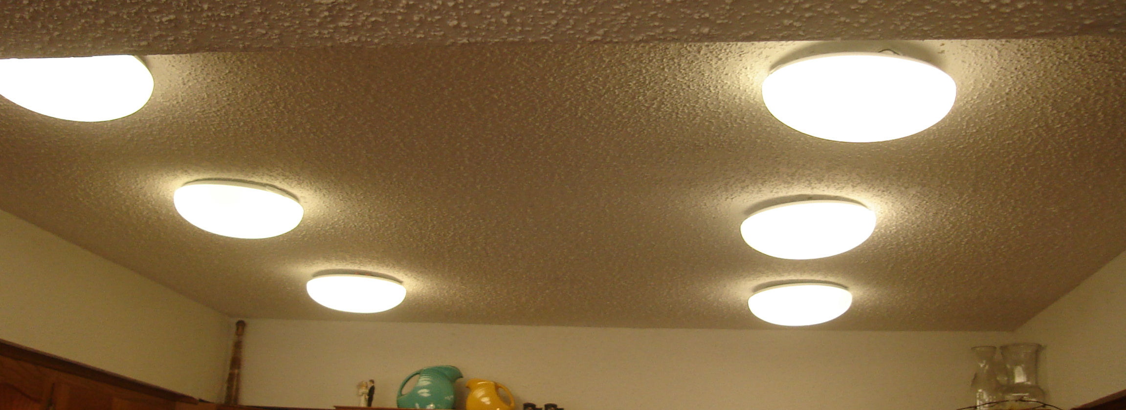 Lights in the kitchen