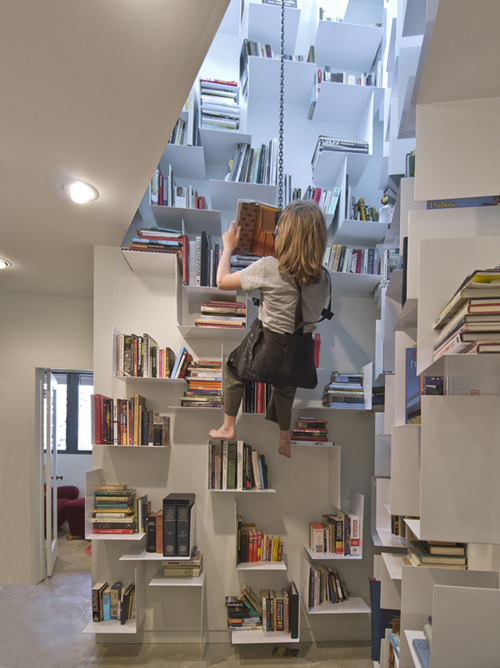 A swing/hoist library