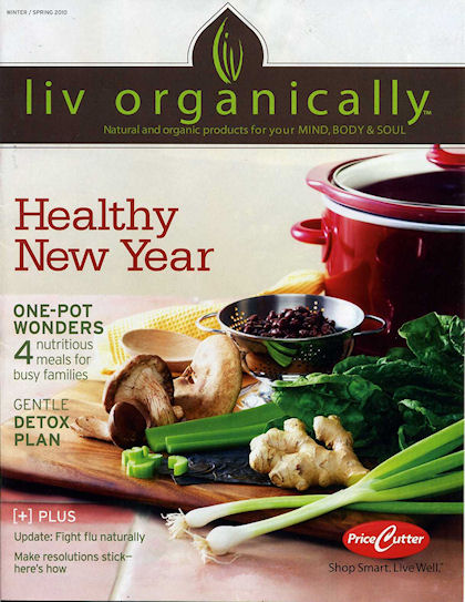 The Liv Organically Magazine