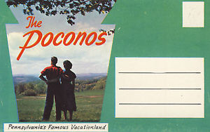 A collectible Poconos card for my son