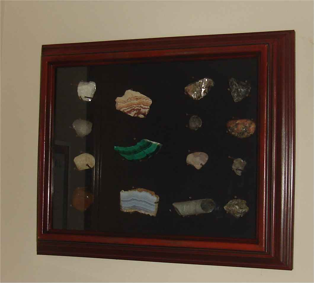 Rocks in a shadowbox