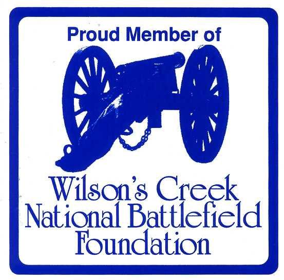 Wilson's Creek National Battlefield Foundation Decal