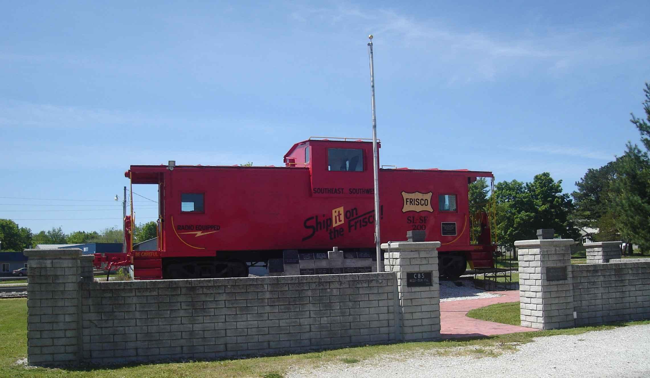 Rogerville caboose