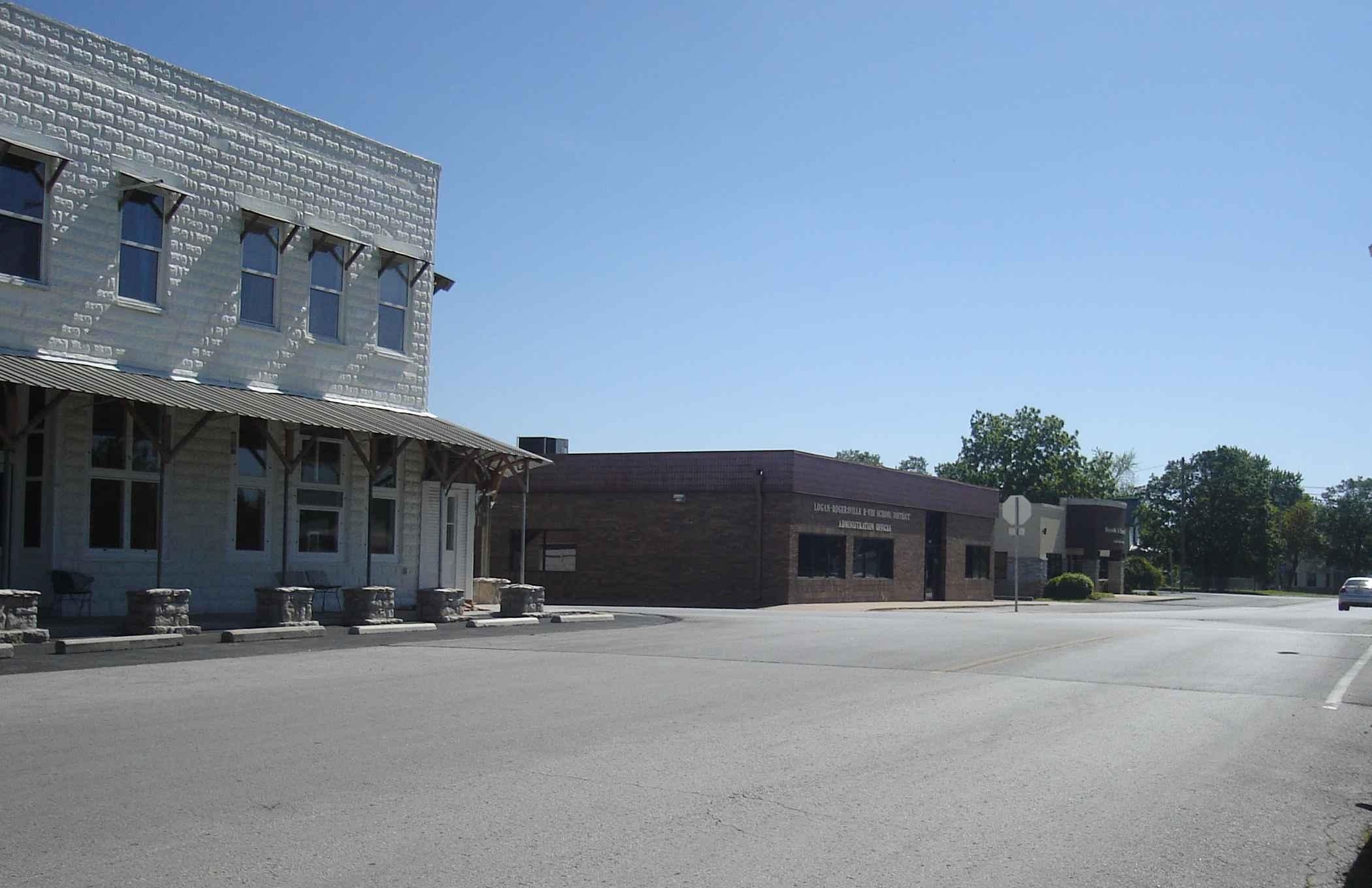 Front Street in Rogersville