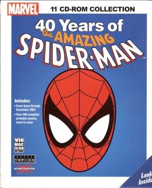 40 years of Spider-Man on CDs.