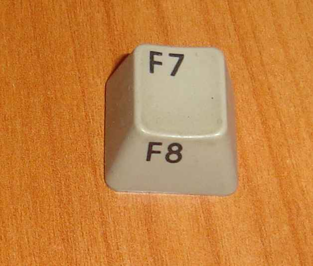 A Commodore 128 Function key