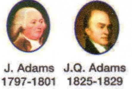 The presidents Adams