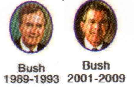 The presidents Bush