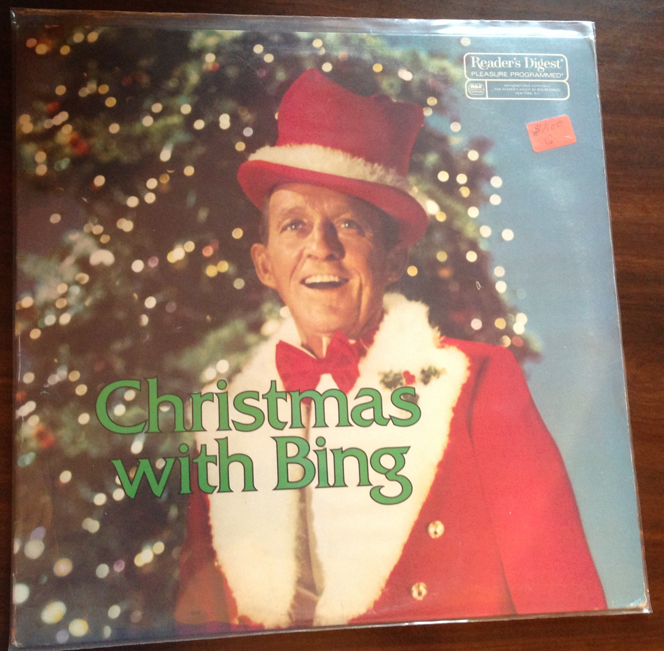 Bing Crosby Christmas Album.Christmas Album Review Christmas With Bing By Bing Crosby