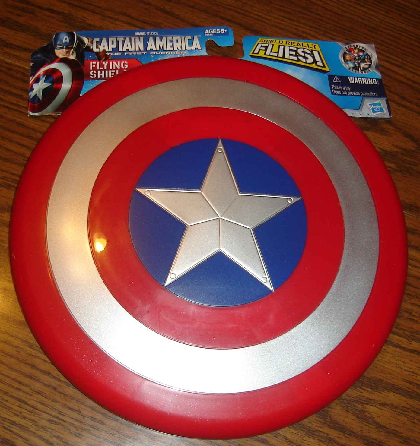 Captain America's Frisbee