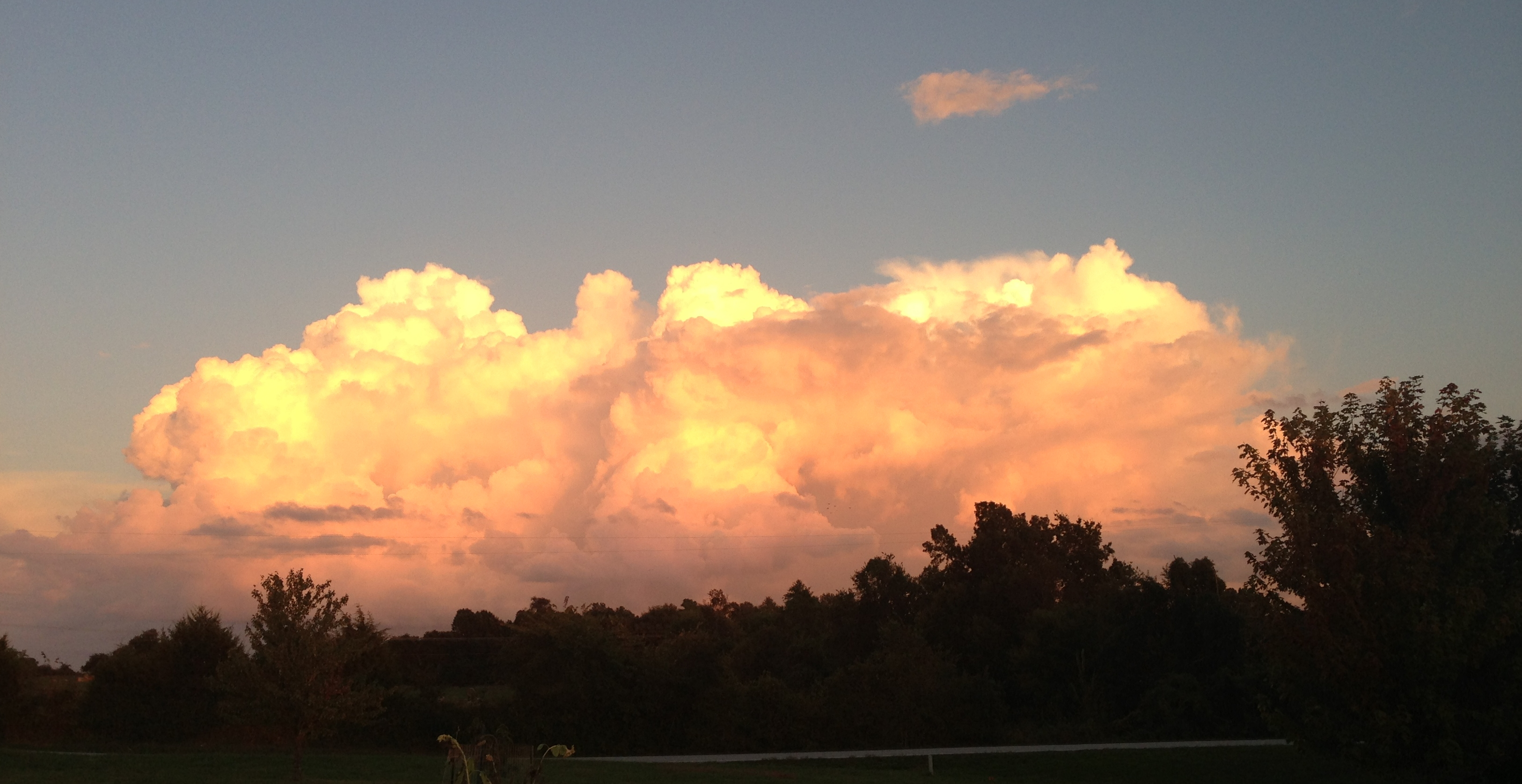 Clouds at Nogglestead