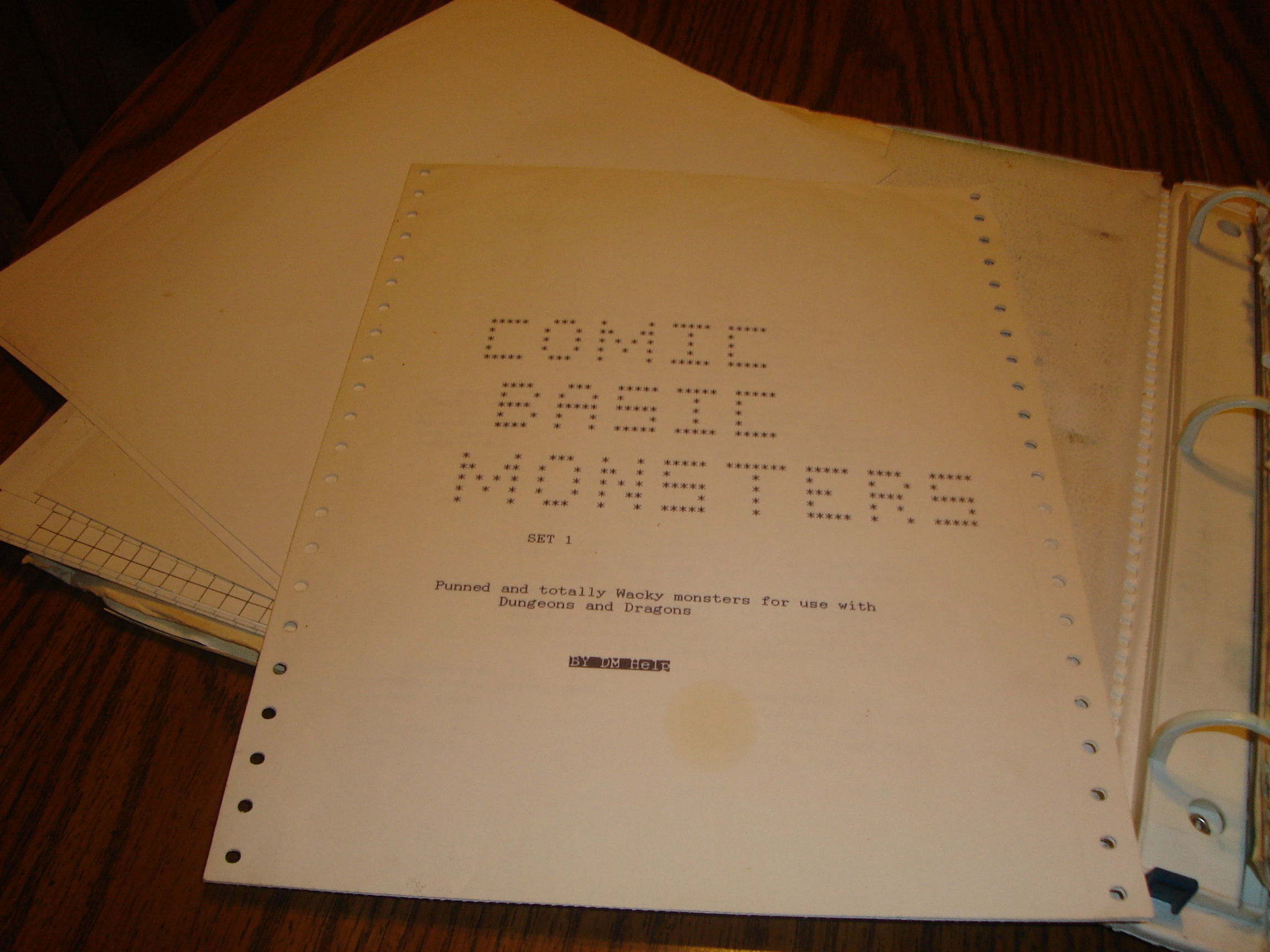 The Comic Monsters module