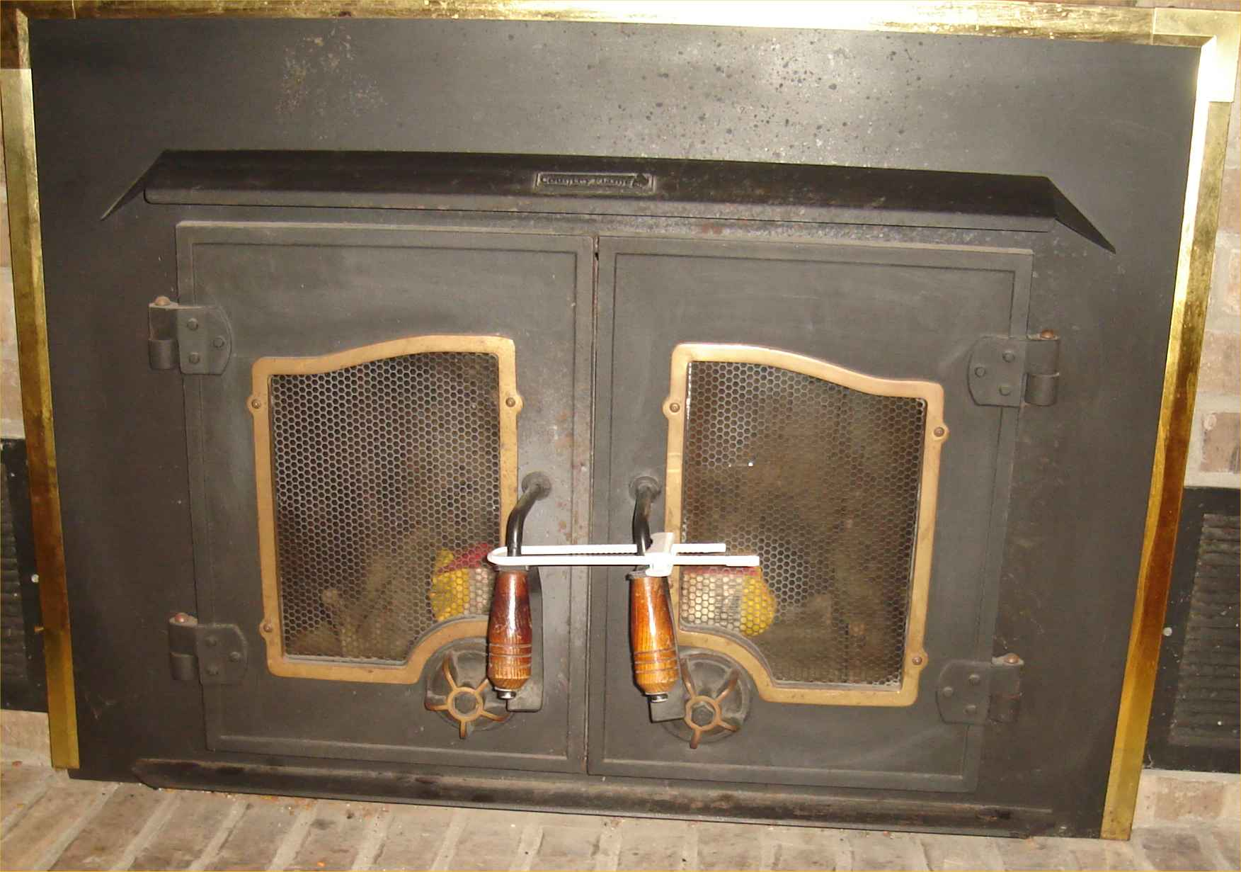 Childproofing the fireplace