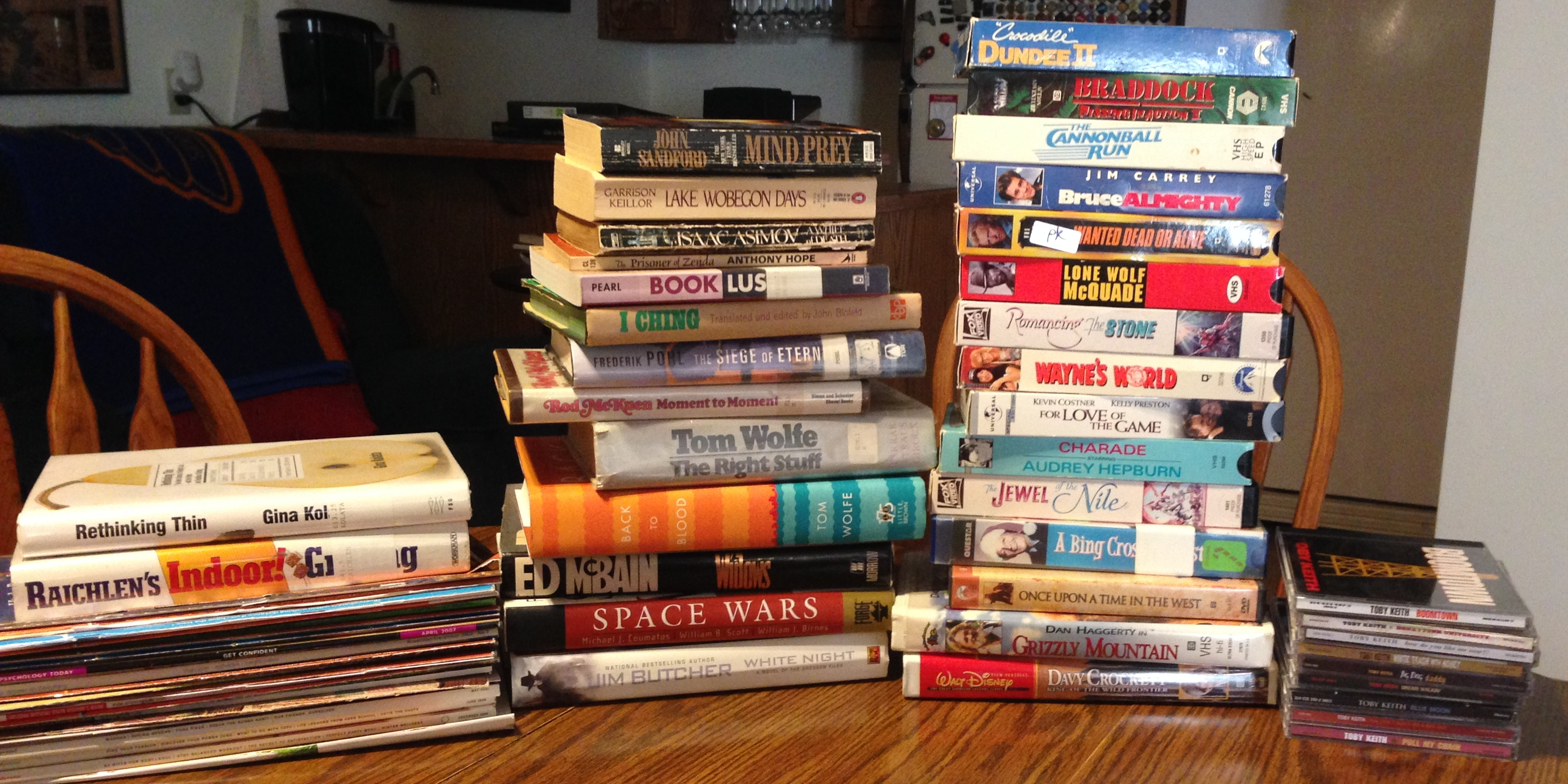 Friends of the Christian County Library book sale October 2015 purchases