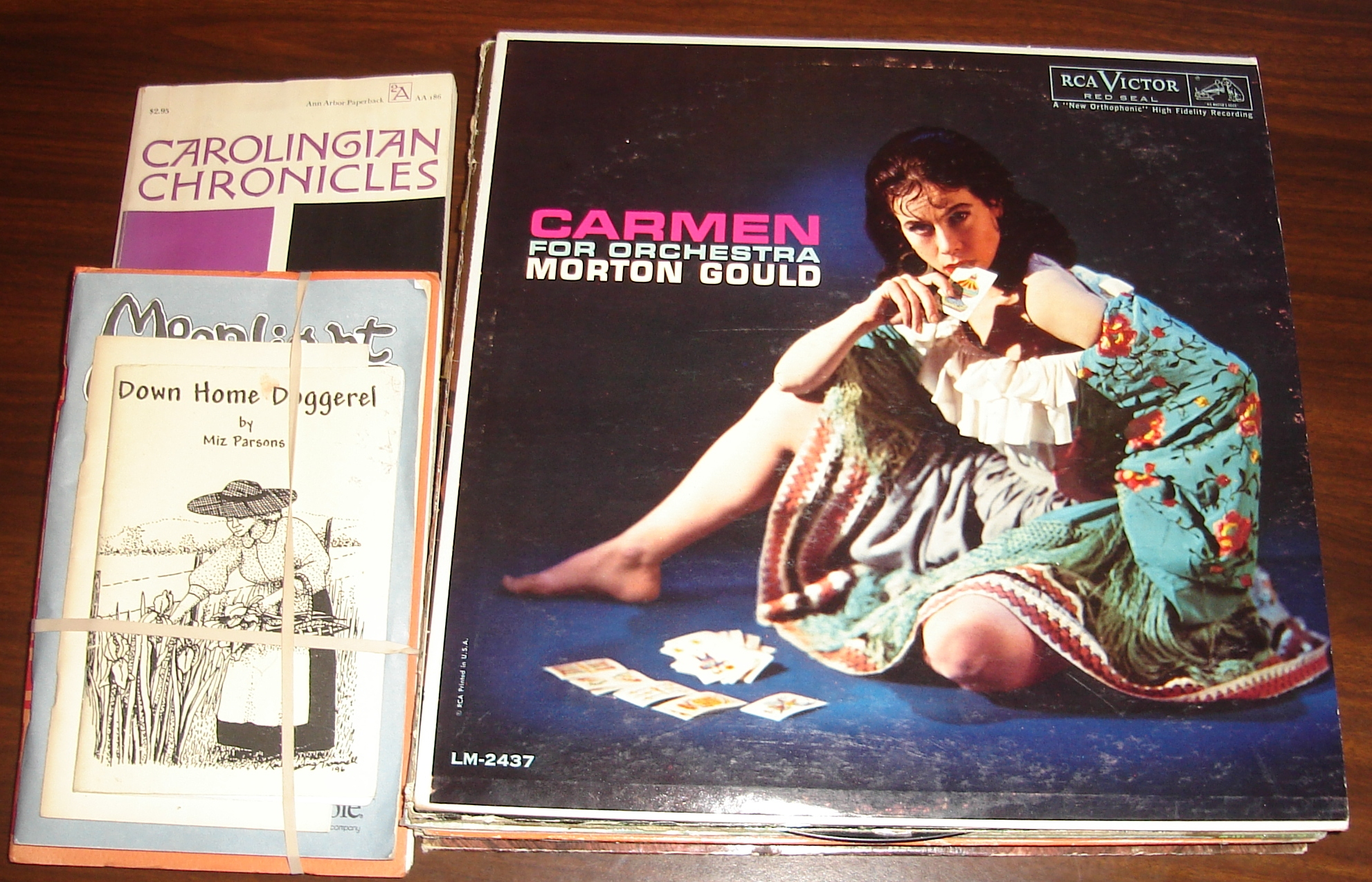 LPs I got at Remington's
