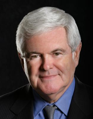 Newt Gingrich would make an excellent giant puppet