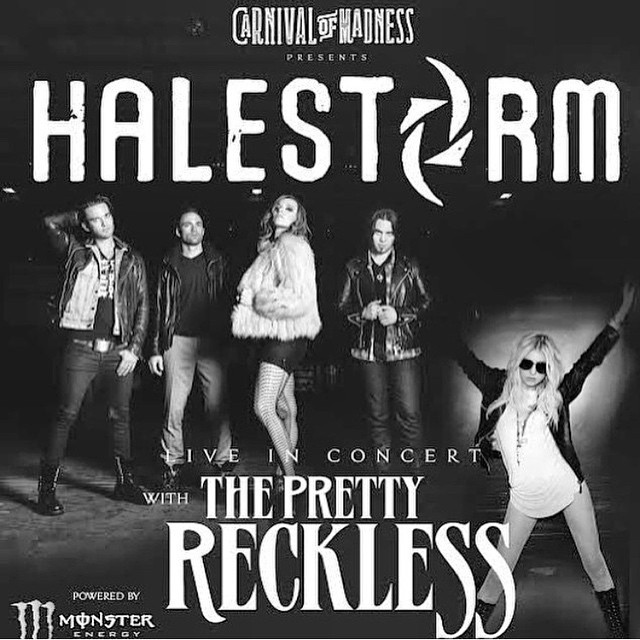 Halestorm/The Pretty Reckless Concert Announcement
