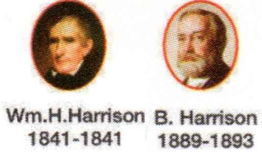 The presidents Harrison