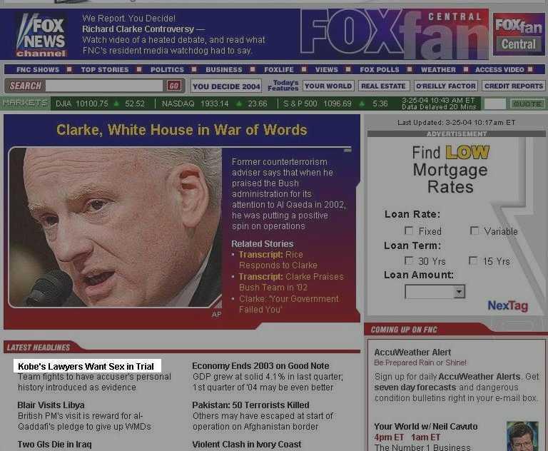 FoxNews Headline