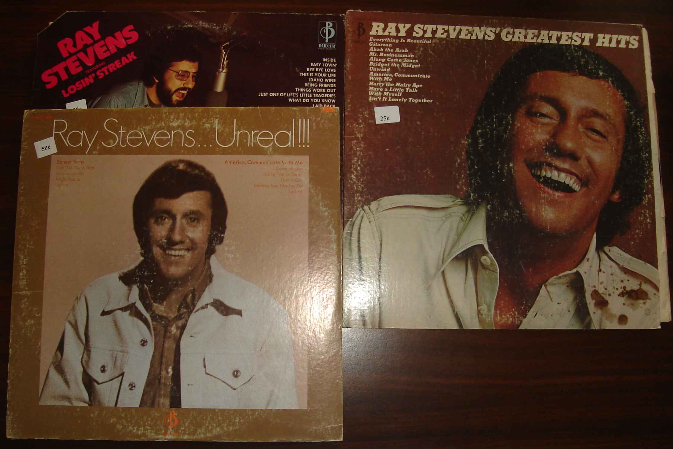 A trio of old Ray Stevens albums