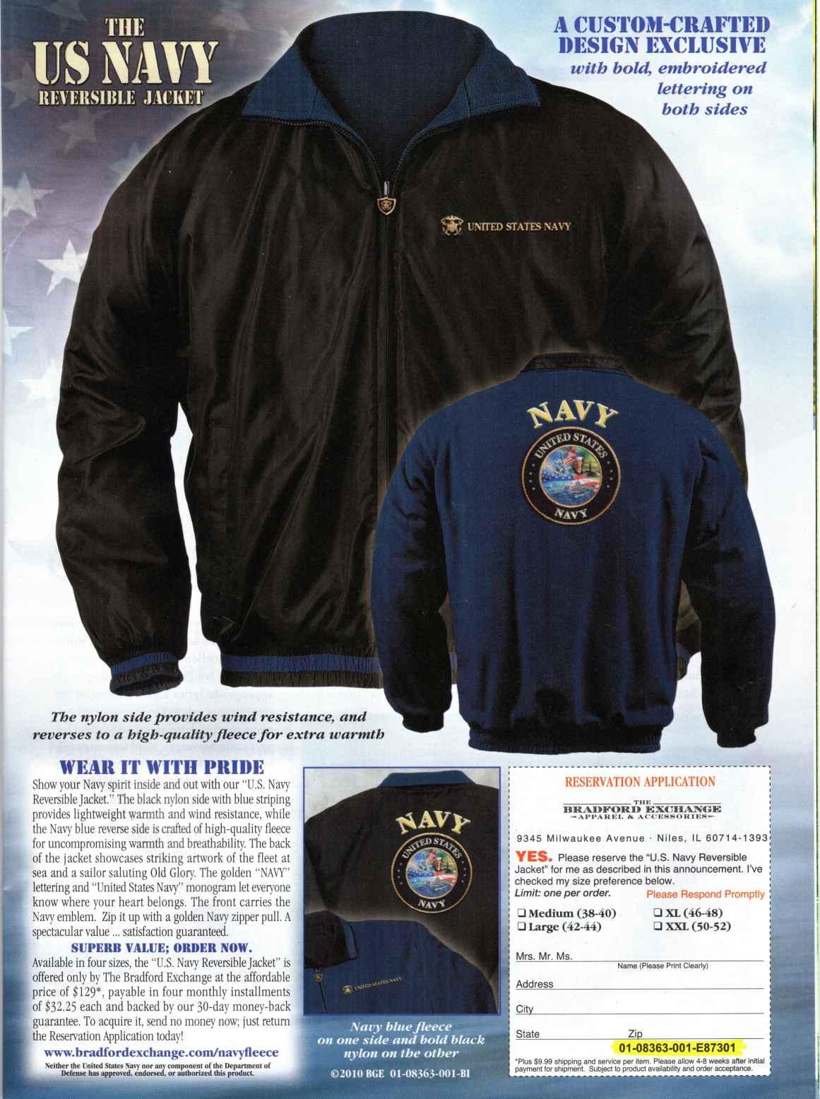 A Reversible Navy Jacket