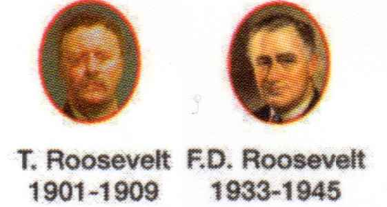 The presidents Roosevelt