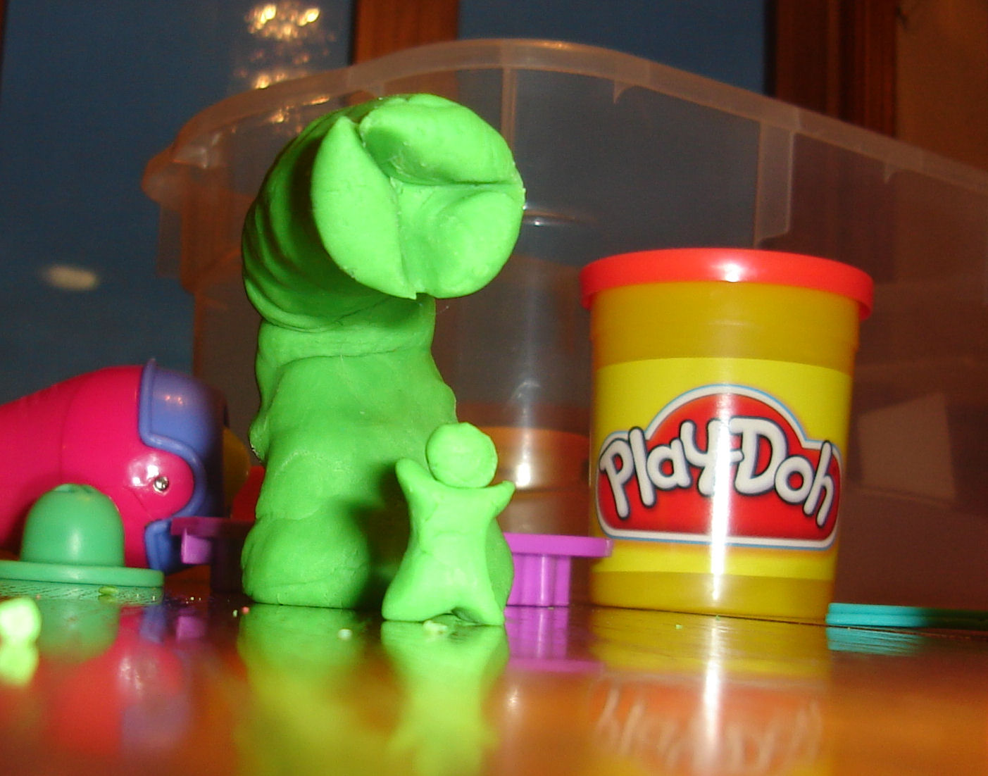 Dune in Play-Doh