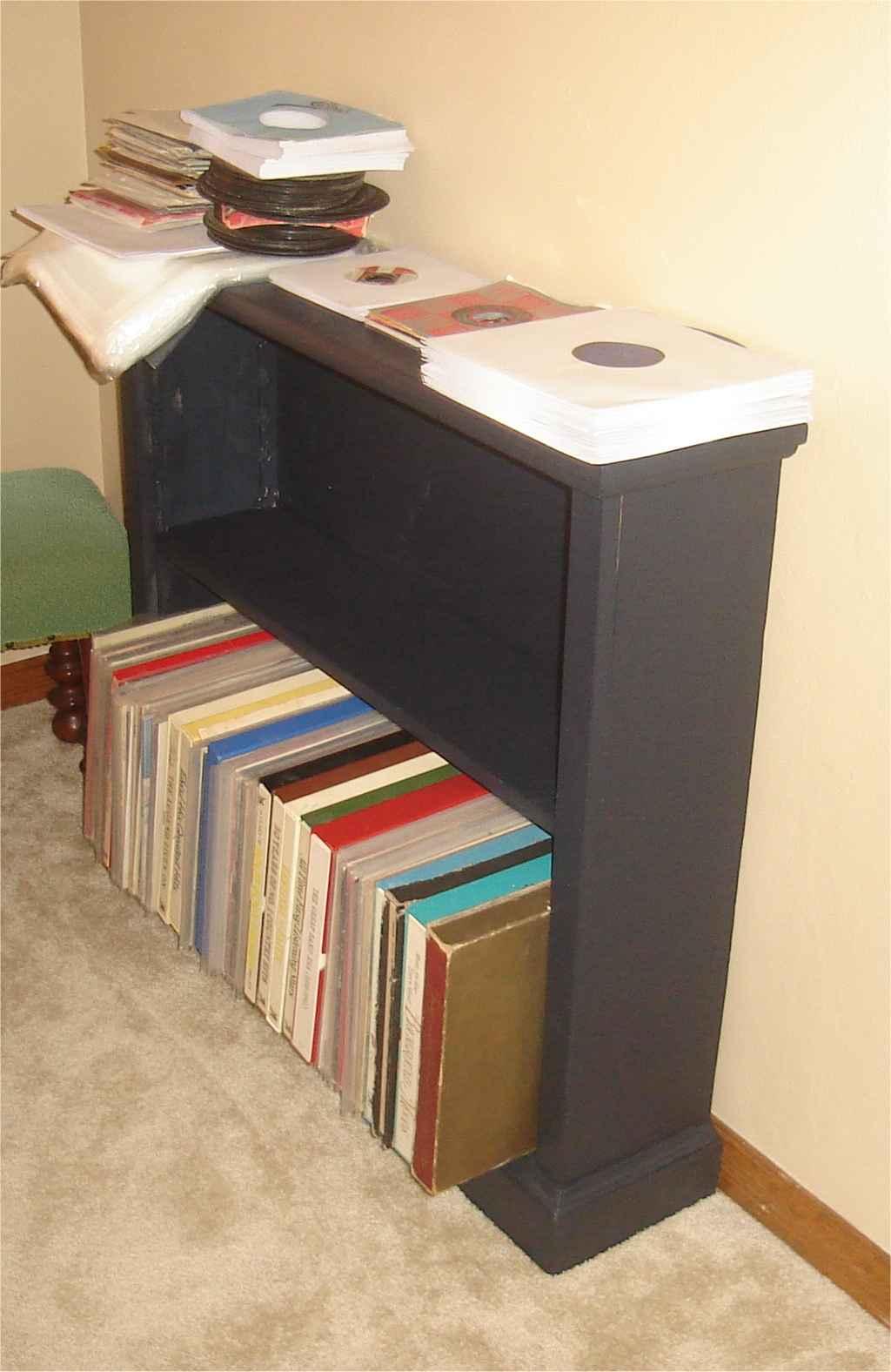 The long awaited bookshelf
