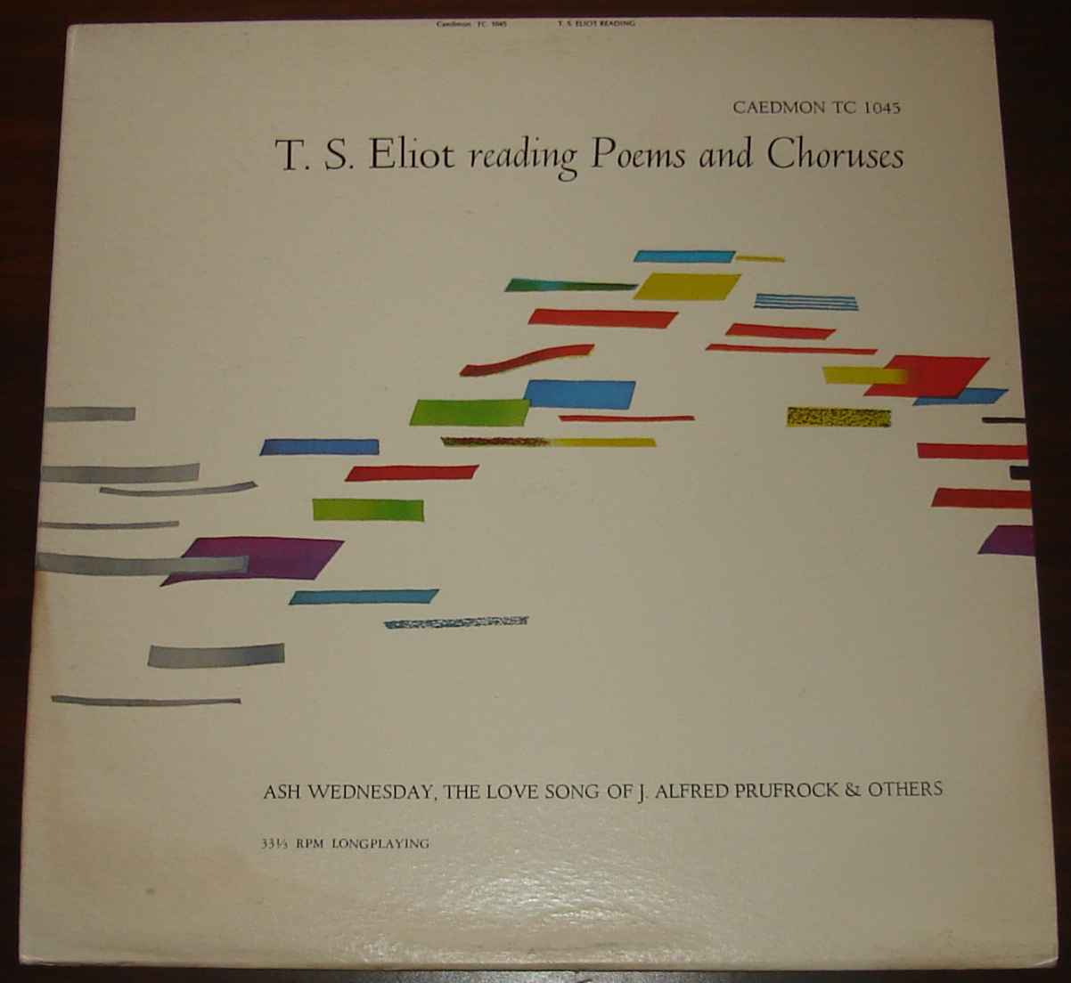 T.S. Eliot reads his own poetry