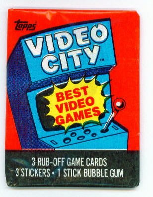 Topps Video Game Cards