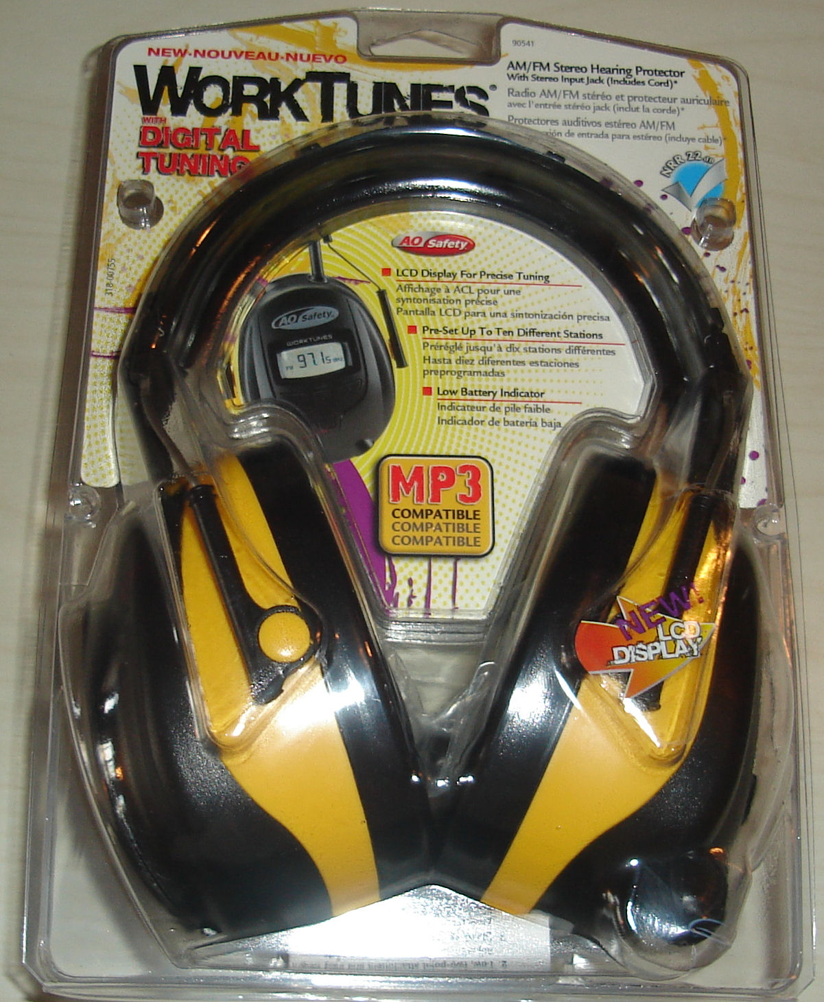 Worktunes noise cancellation, music enablation headphones