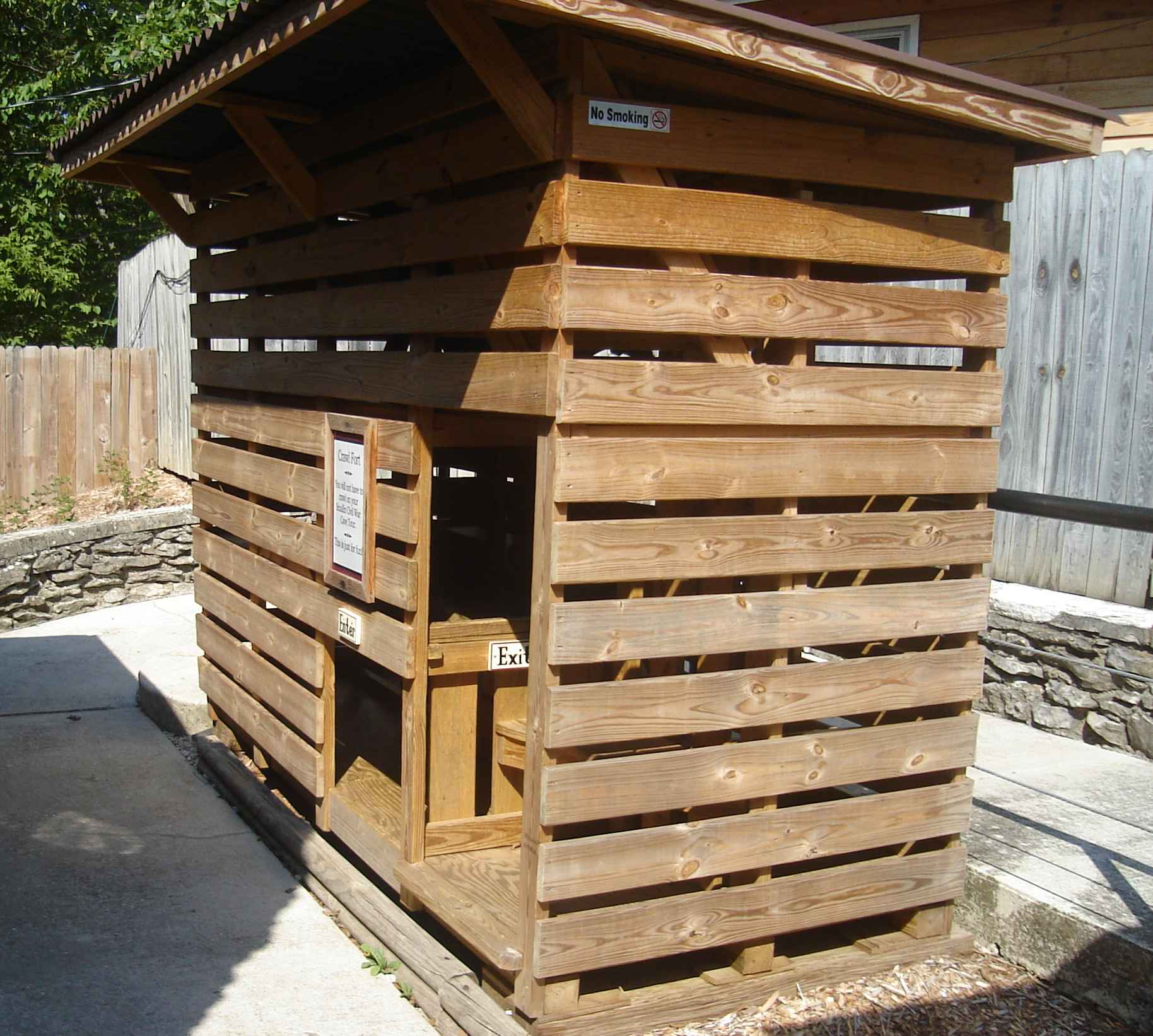 Smallin Cave crawl box