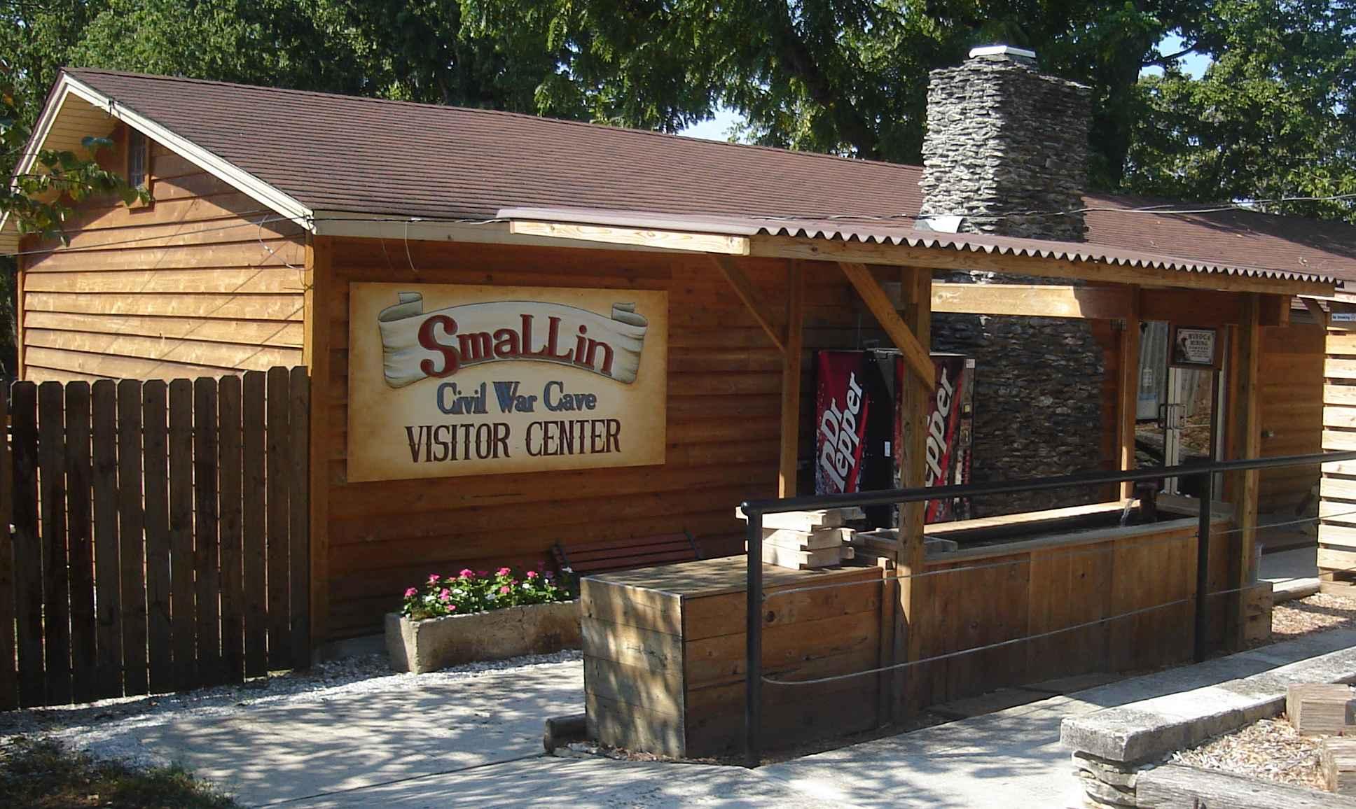 Smallin Cave Entrance